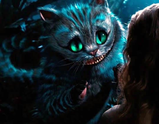 Larry Belmont Grave minusválido  O Gato de Cheshire de Tim Burton é o mais bonito que já vi | Gatices